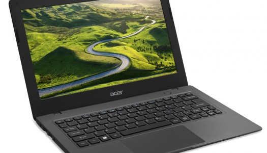 Acer Launches Aspire One Cloudbook, Runs Windows 10 for Just $169