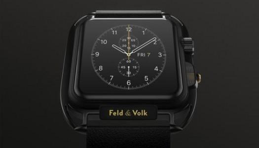 Feld and Volk Unveil Custom Carbon Apple Watch
