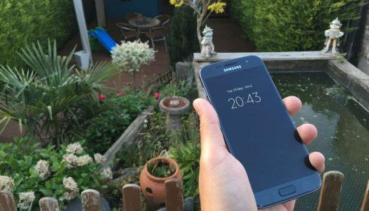 Samsung Galaxy S7 front camera test (Video)