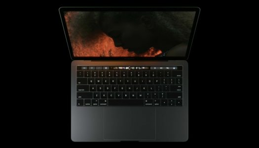 Apple announces MacBook Pros with TouchBar & TouchID