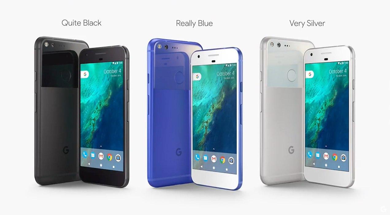 google-pixel-colours