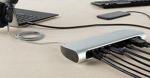 Belkin's Thunderbolt 3 Express Dock HD is a one-cable docking solution