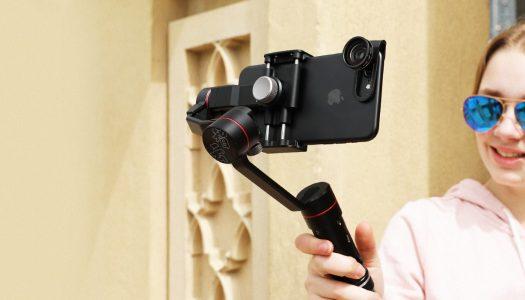 Unboxing Zhiyun's Smooth 3 smartphone gimbal