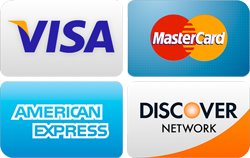 major credit cards we accept