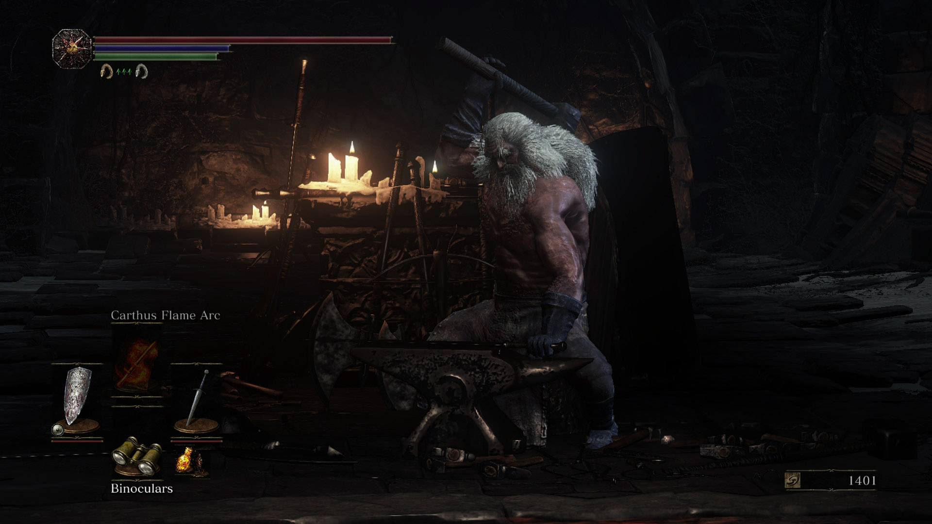 Dark Souls 3 Andre the Blacksmith