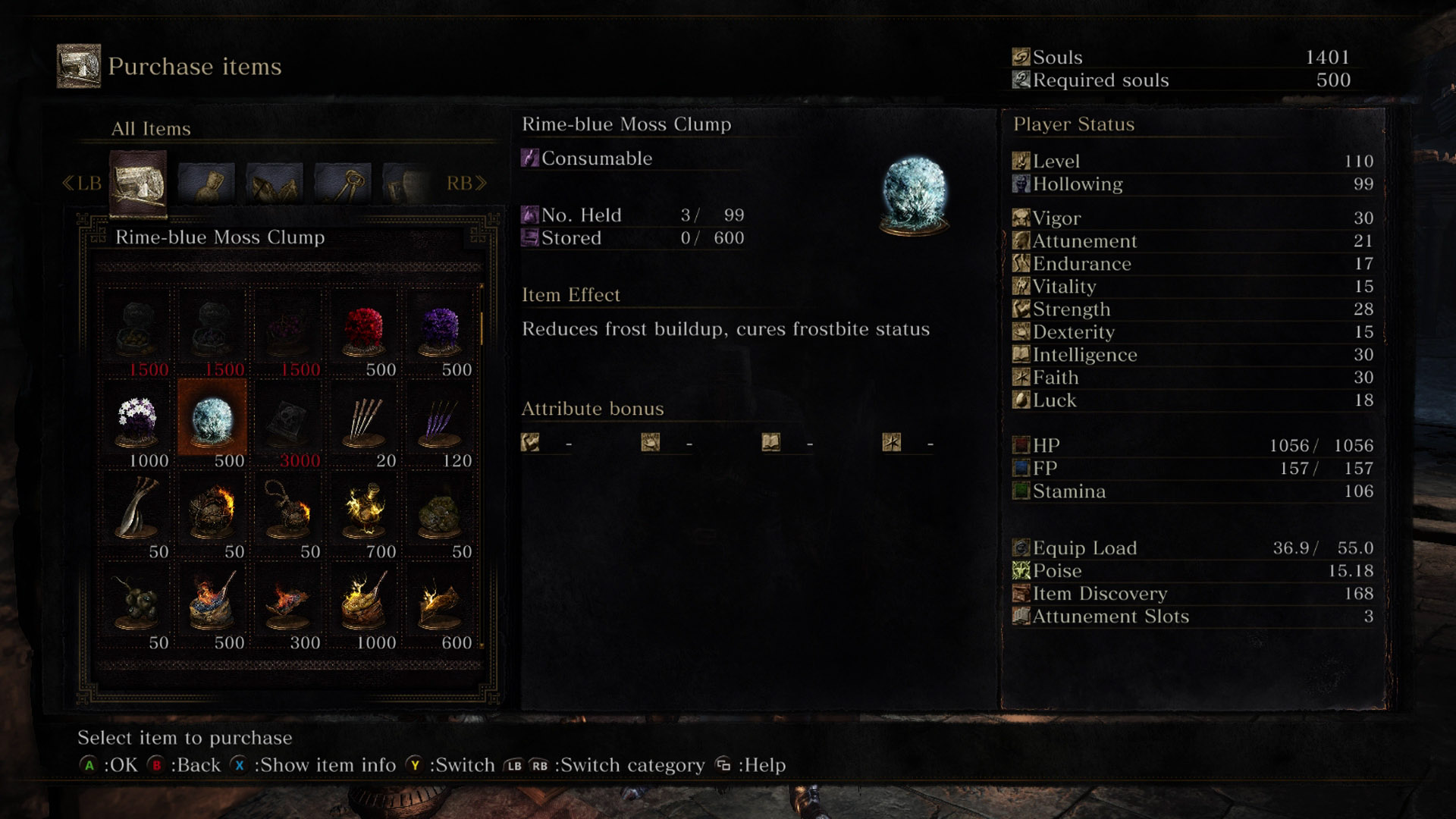 Dark Souls 3 Items