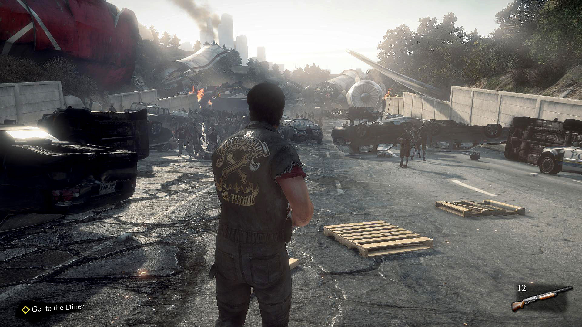 Dead Rising 3: Bleak, gray, and drab