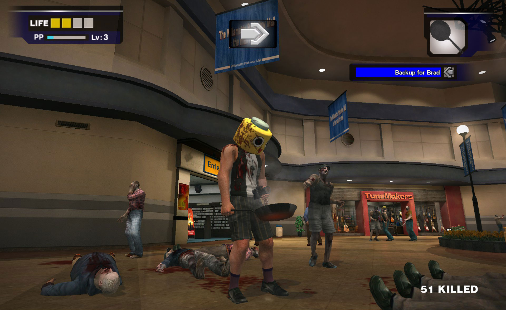 Dead Rising Block Head