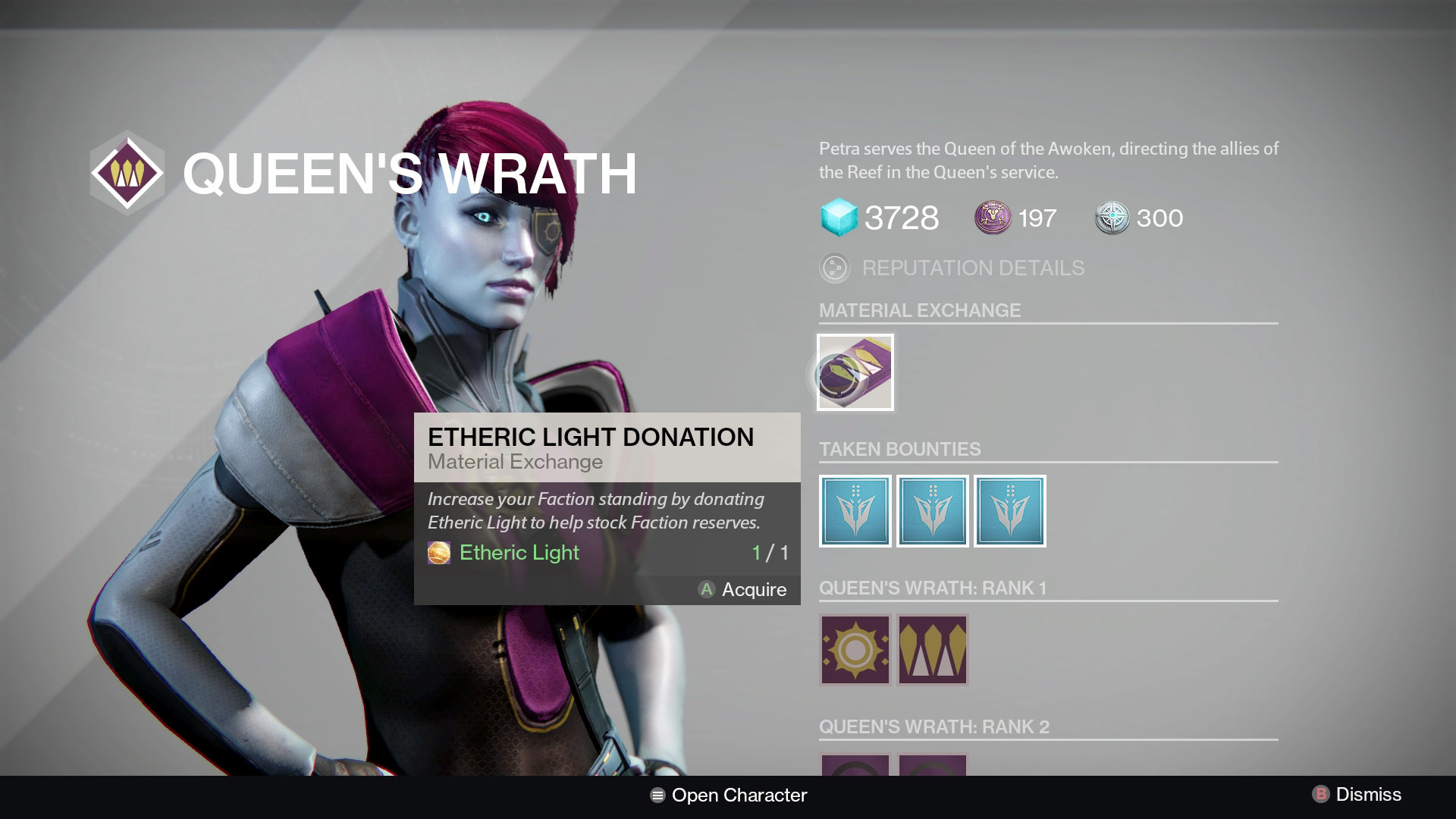 Destiny Queen's Wrath