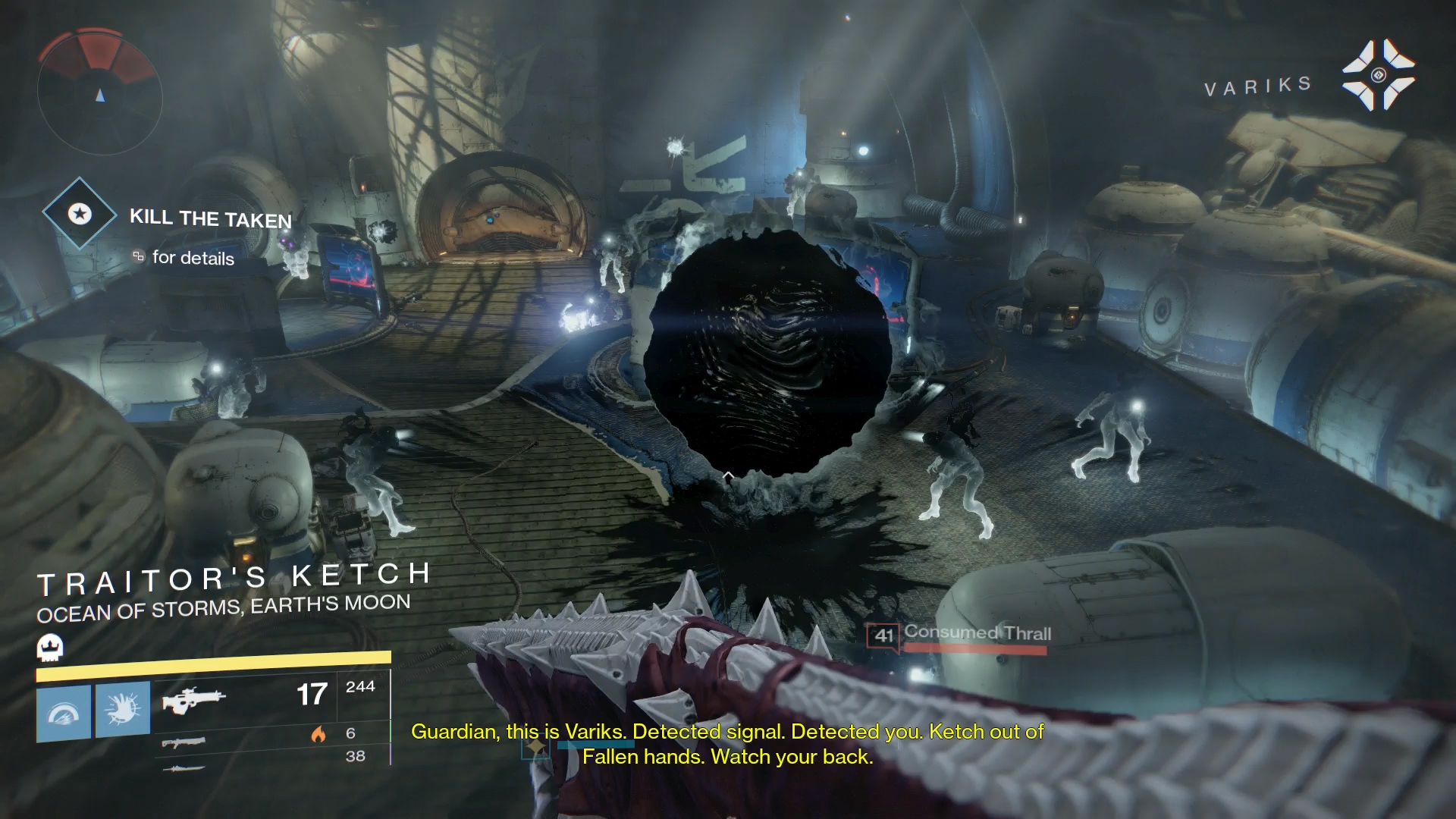 Destiny Room 1 Blight Bomb