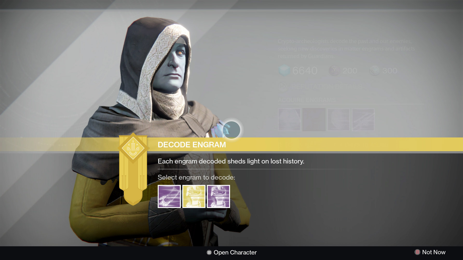 Destiny Cryptarch