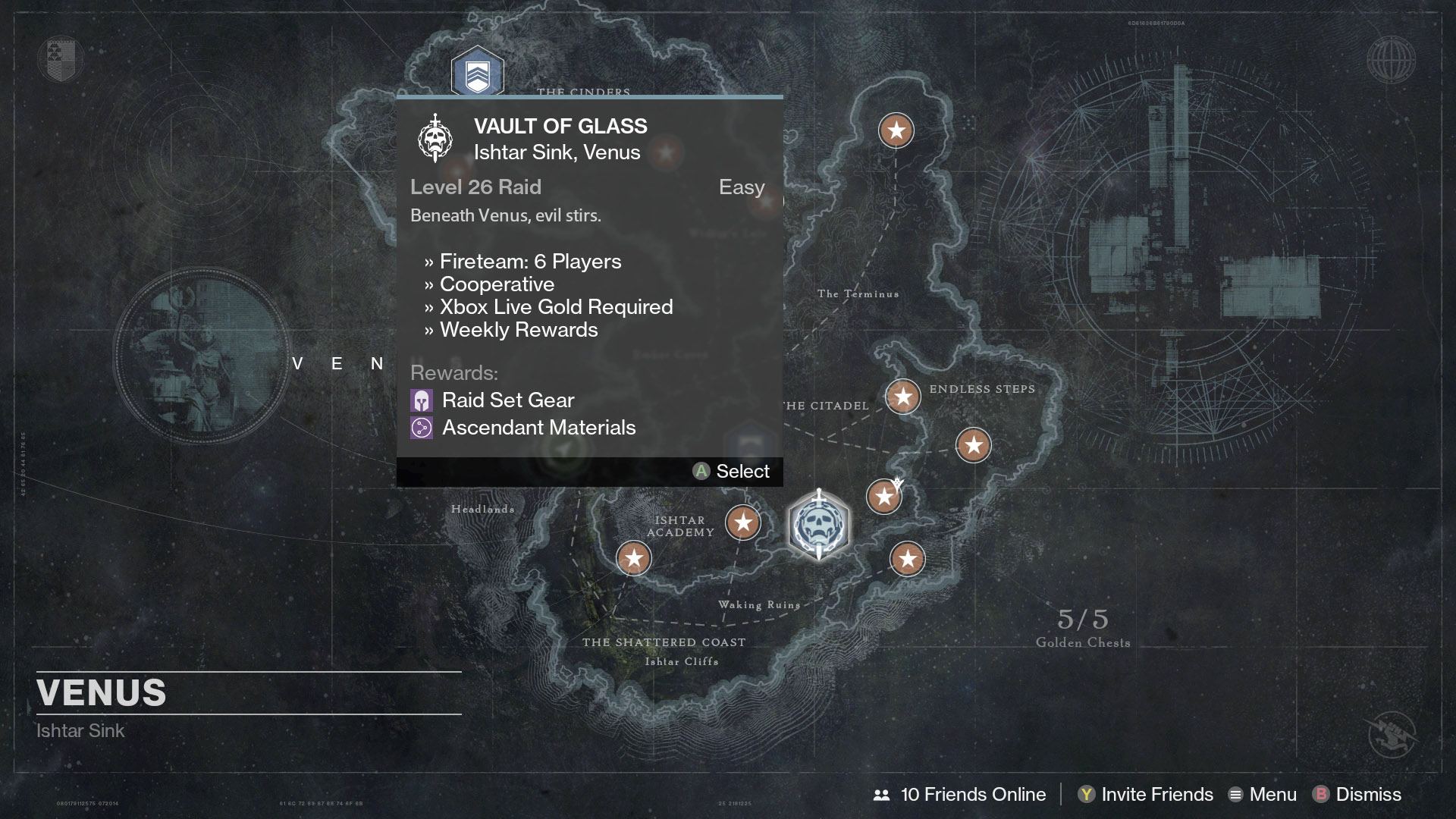 Destiny Vault of Glass