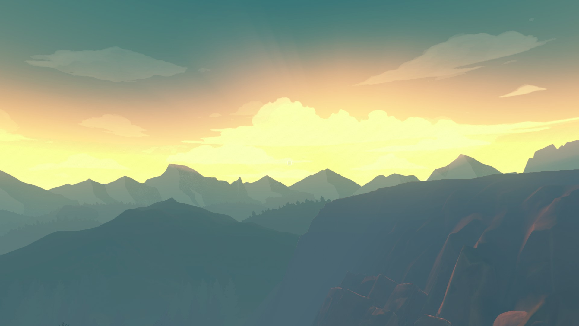 Firewatch Muted Colors