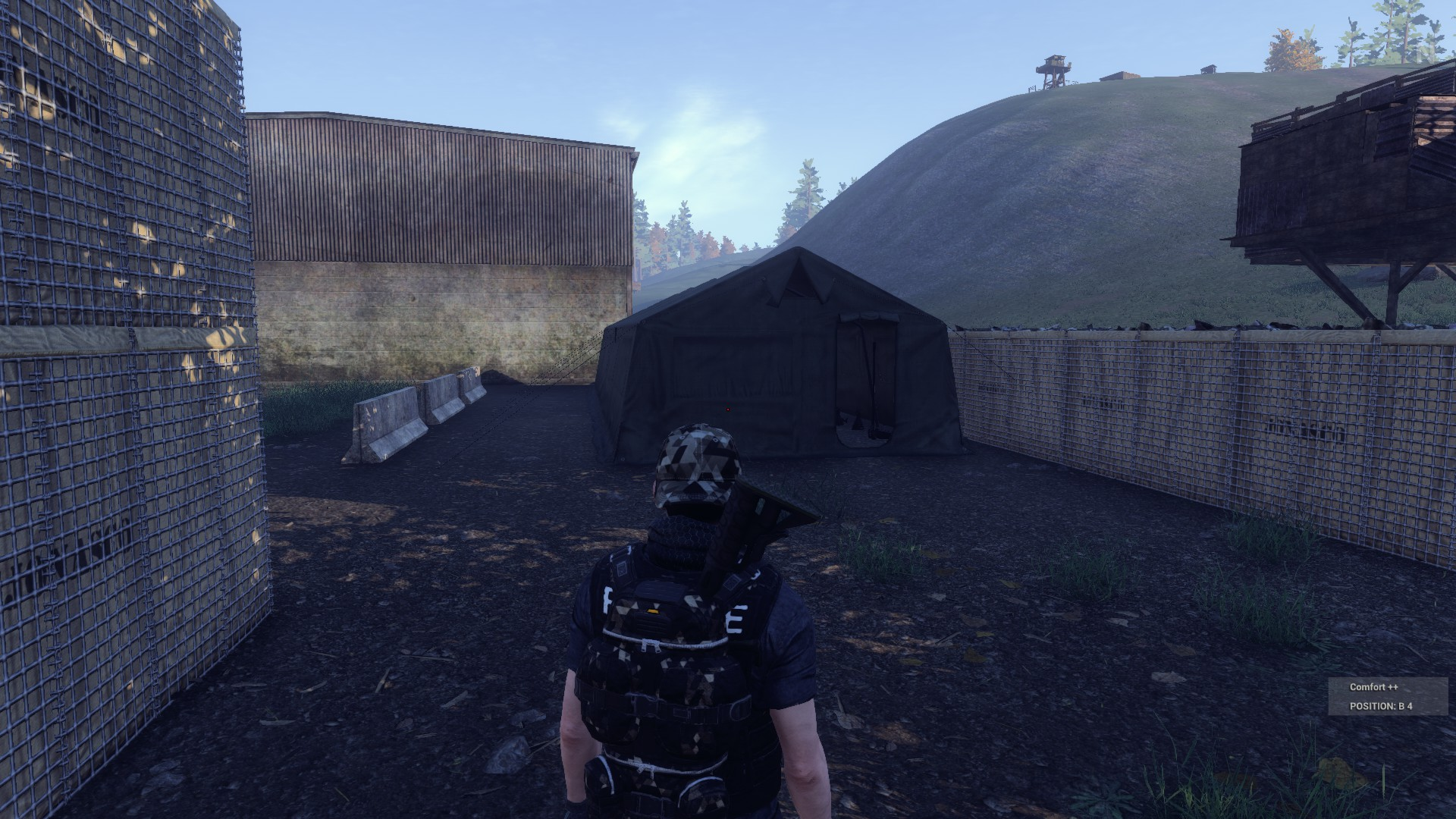 This military tent is a popular place for players to look for a Wrench.