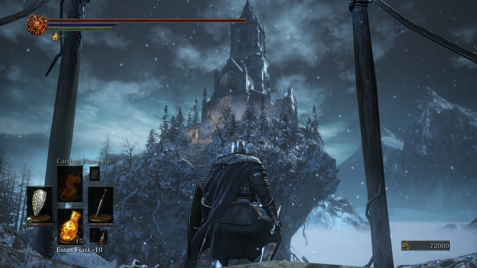 Locate Ariandel's Chapel in order to gain access to the Champion's Gravetender fight
