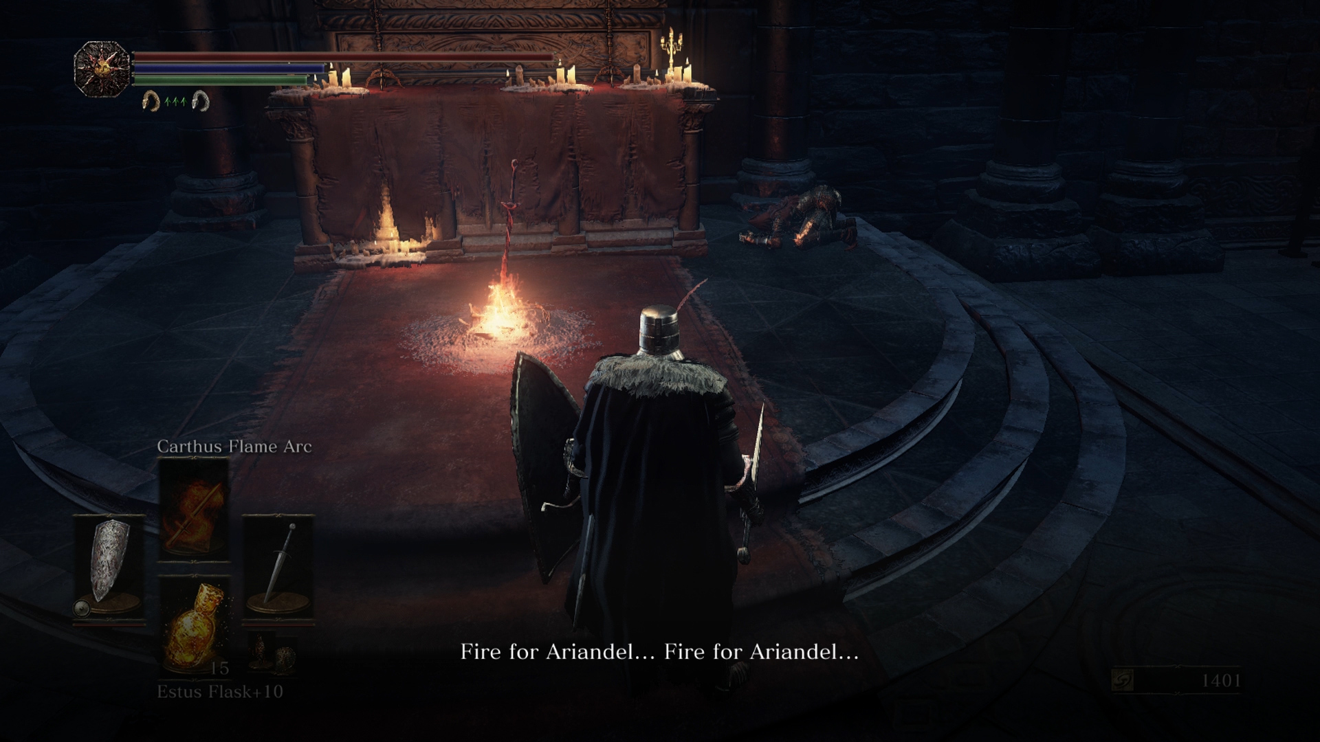 The Cleansing Chapel is where Ashes of Ariandel kicks off