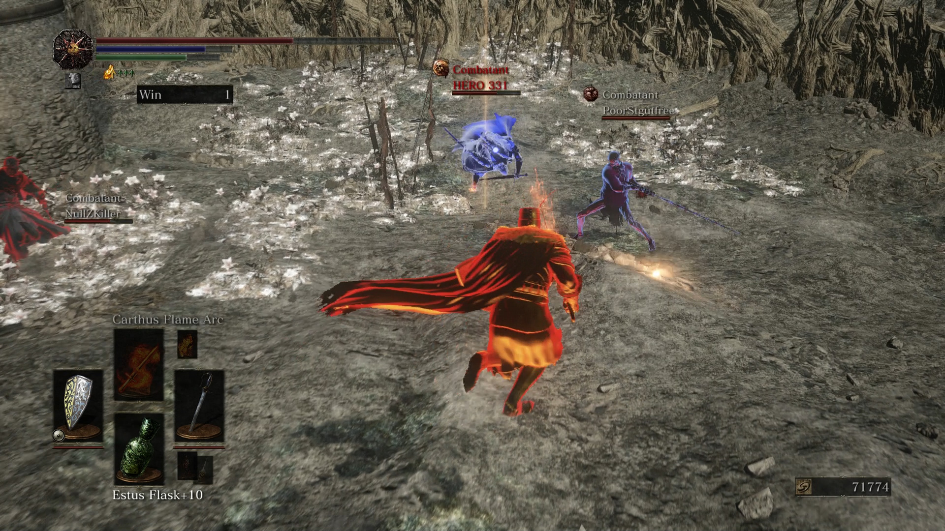 Fighting with five other players can become hectic very quickly