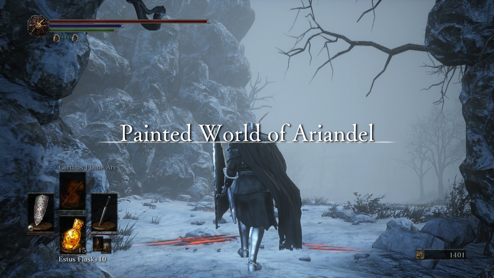 And now into the unknown world of Ariandel