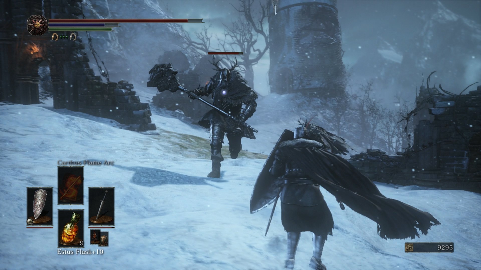 The Millwood Knights are one of the new enemies in Ashes of Ariandel