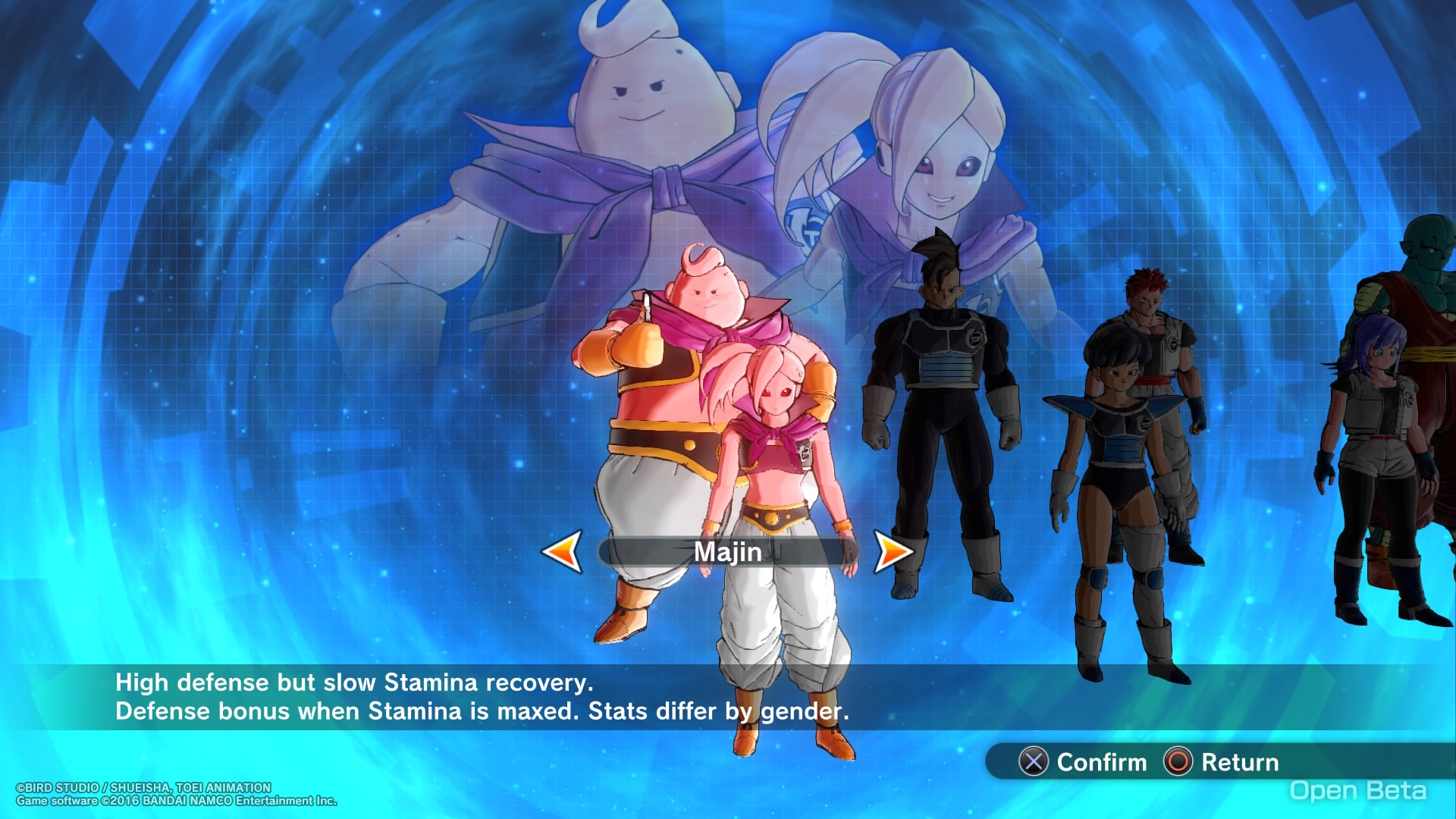 The Majin Race