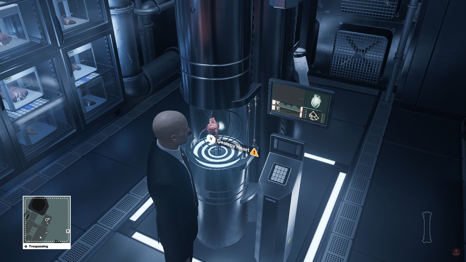 This is one of the most satisfying assassinations in Hitman.
