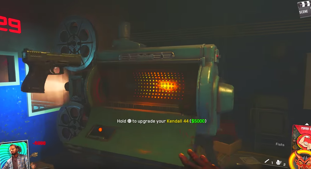 how to turn on the power in zobies in spaceland