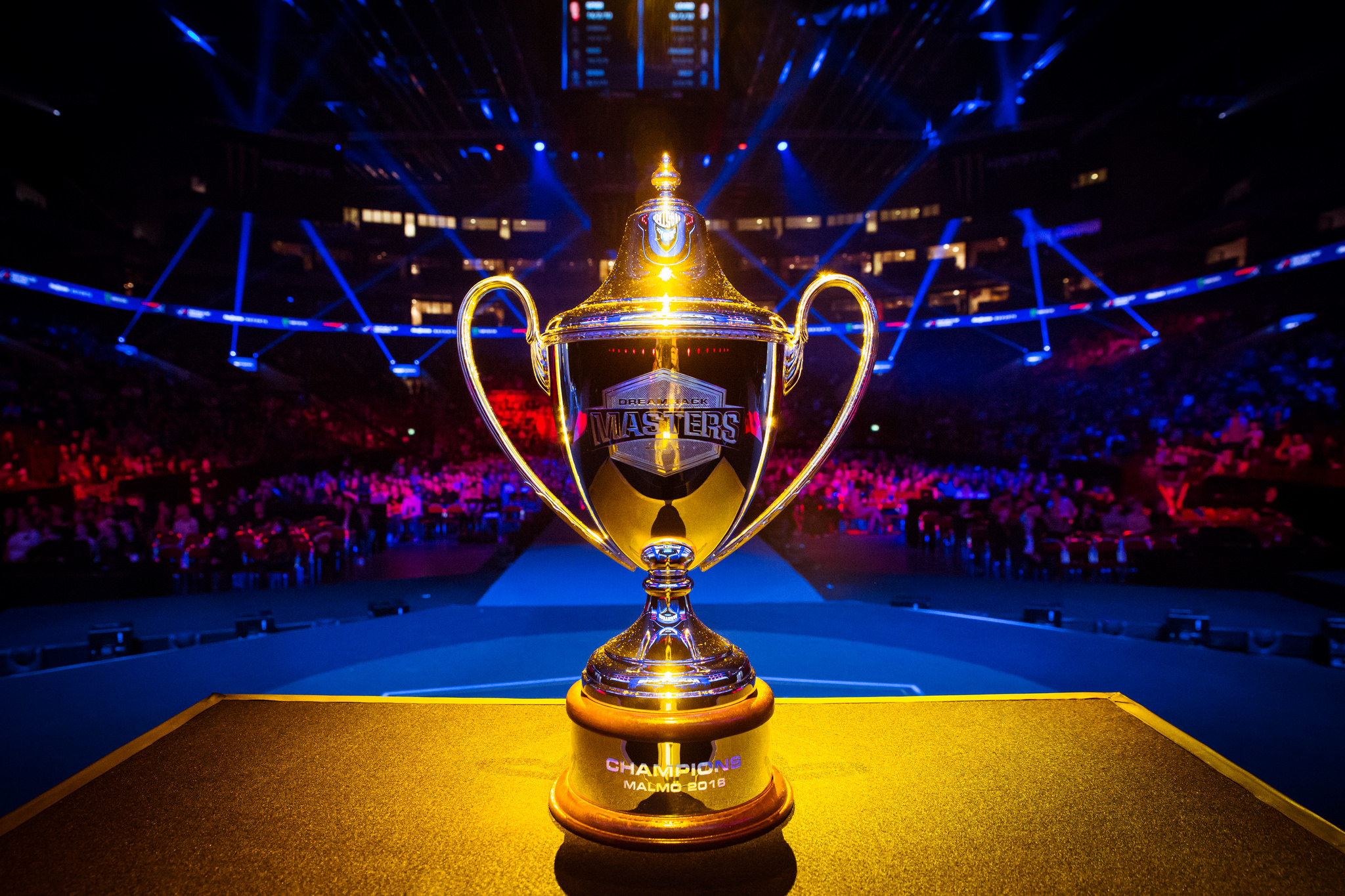 The DreamHack Masters trophy