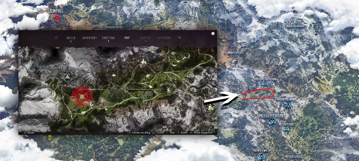 Horizon Zero Dawn Karte.Horizon Zero Dawn Full Map Locations Tribes Leaked Levelcamp