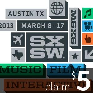 $5 at SXSW