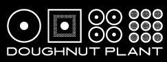 Doughnut plant logo bw