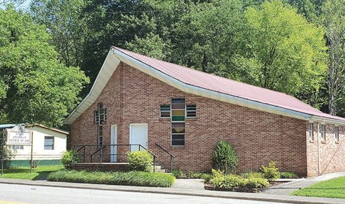 First Apostolic Church in Appalachia has postponed in-person services because of several confirmed and suspected COVID-19 cases. TERRAN YOUNG PHOTO