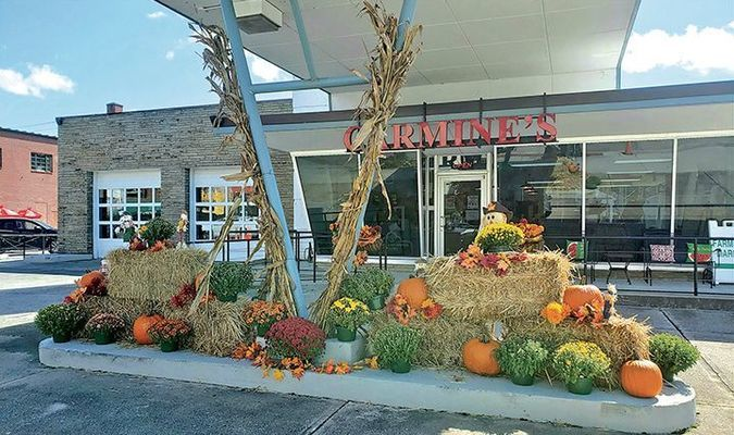 The Big Stone Gap Visitor Center has reopened to the public and recently got prepared for the Halloween season with this autumn-themed display.  TERRAN YOUNG PHOTO