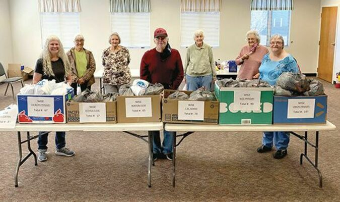 Though unable to serve in area schools due to COVID-19 restrictions, Wise County and City of Norton volunteers with MEOC's AmeriCorps Seniors have found ways to continue helping the community outside the classroom.