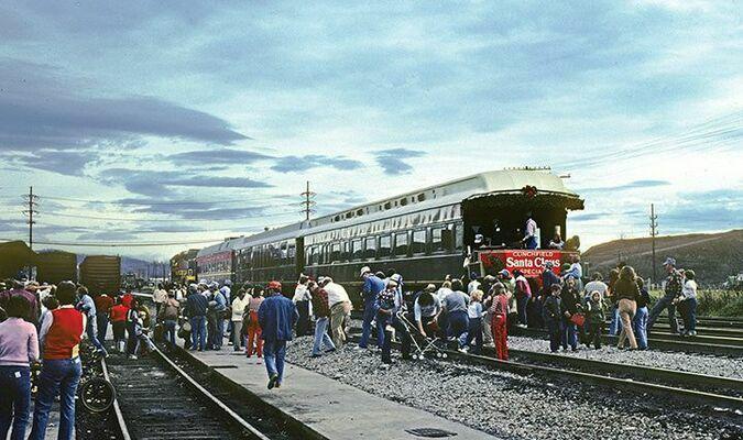 CRR Santa Train-Kingsport TN