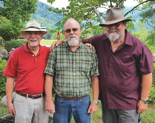 Richard Phillips and Friends consists of Richard, Bill Smith and Tommy Clements.
