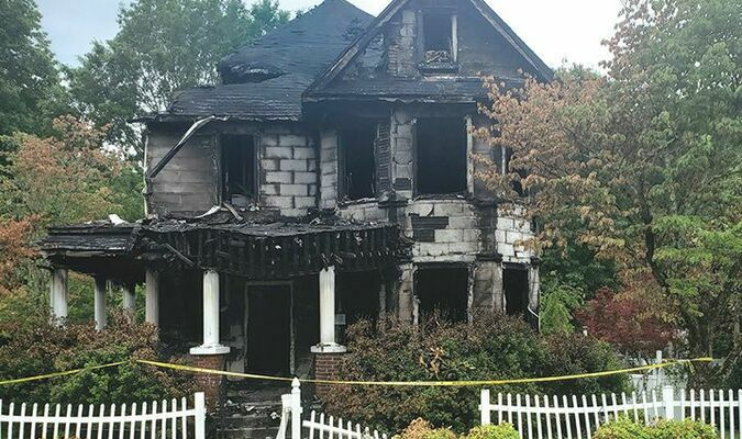 The fire occurred at 102 Wyandotte Avenue.  TERRAN YOUNG PHOTO