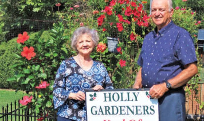 Wes and Letha Wuerch Holly Lake Ranch Yard of the month Photo by Ann Reynolds
