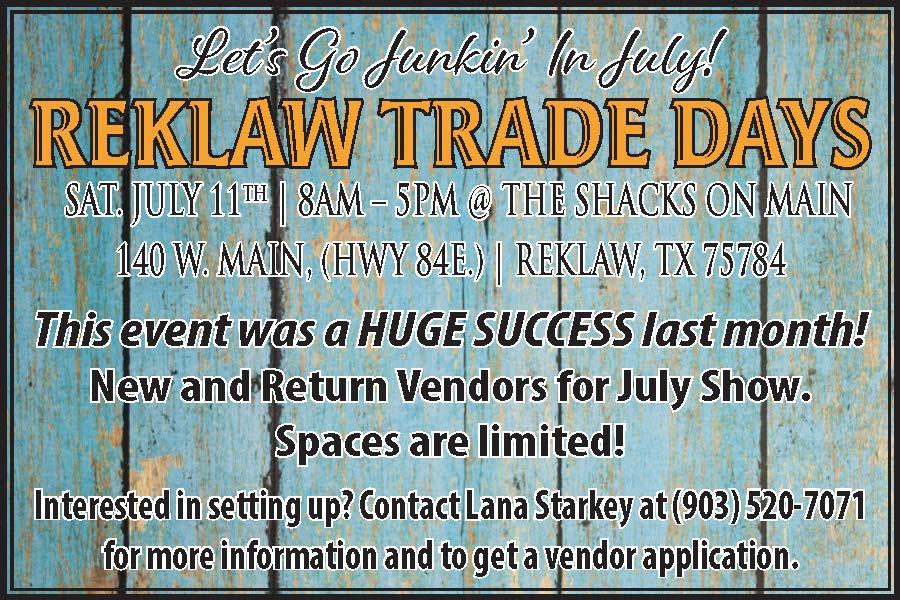 Reklaw Trade Days