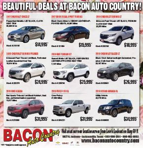Beautiful Deals at Bacon Auto Country