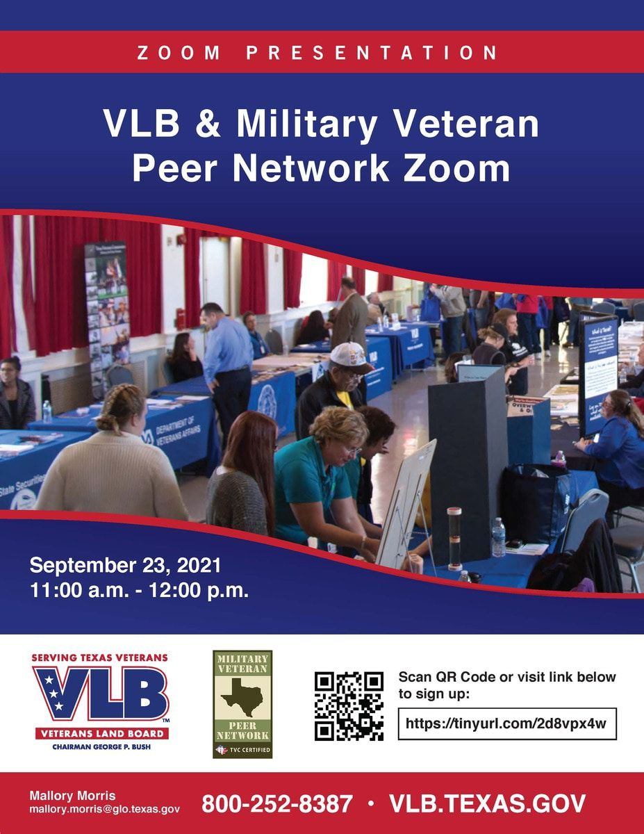 Veteran's Land Board & Military Peer Network