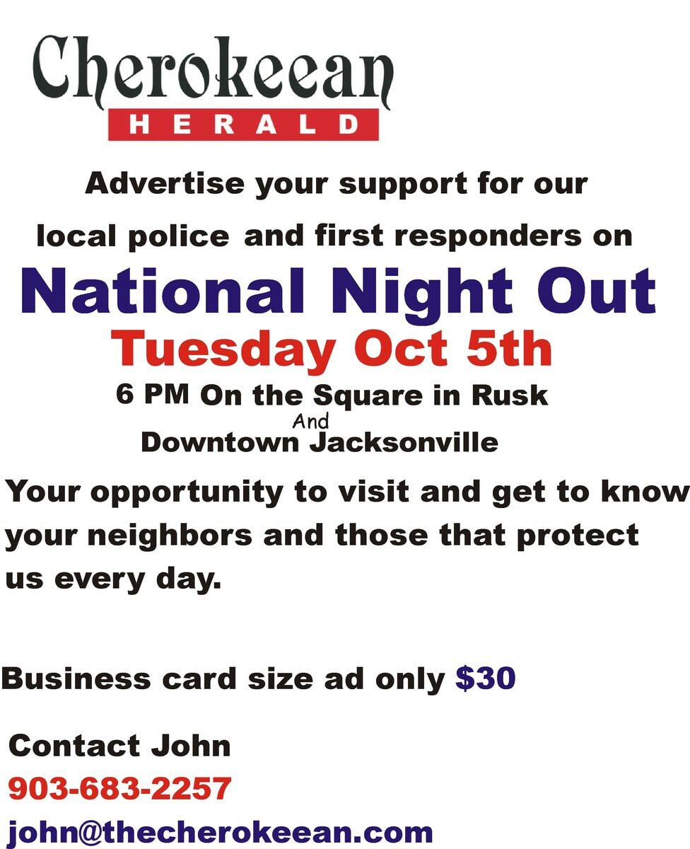 National Night Out Oct.5th