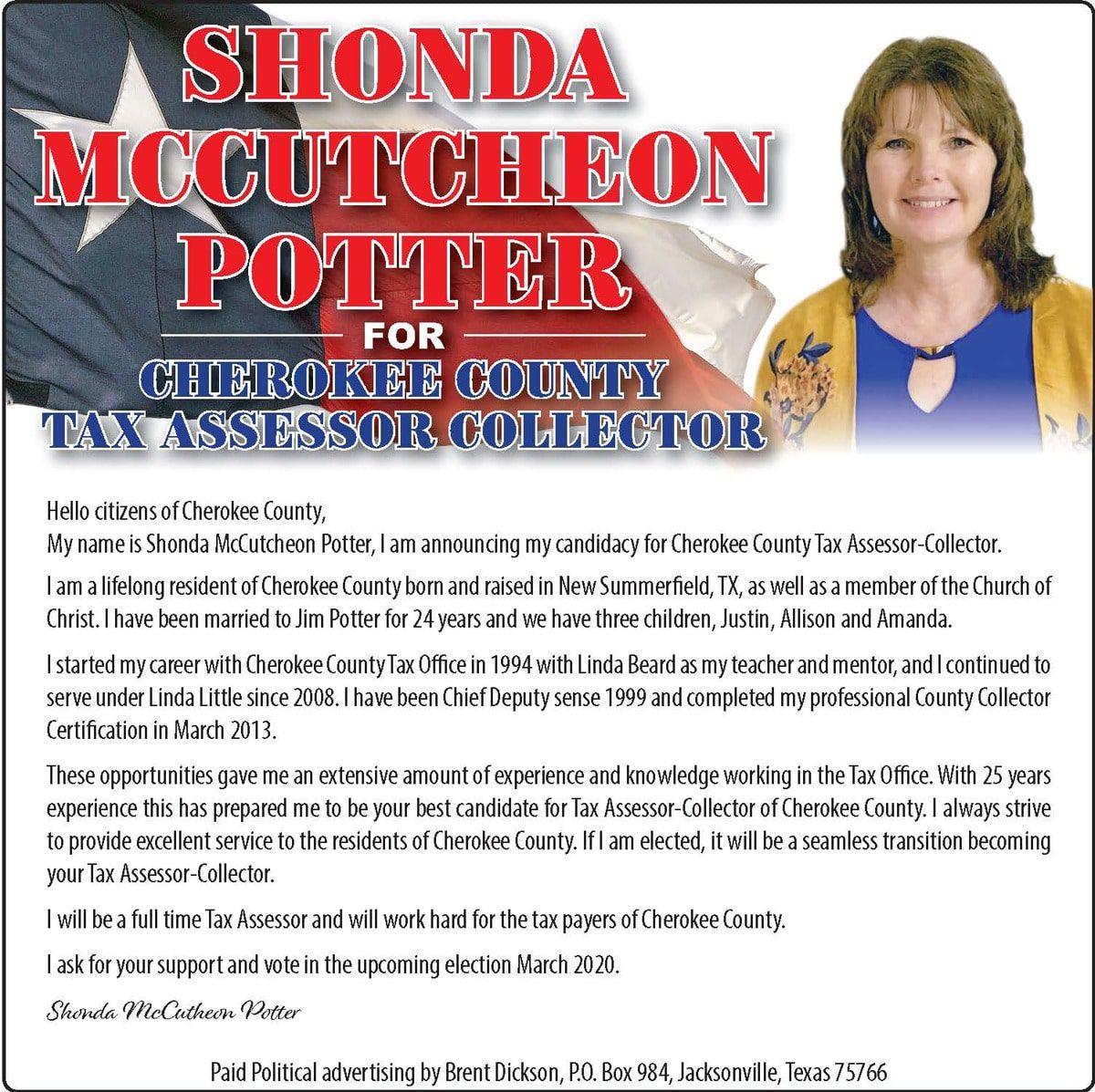 Shonda Potter political