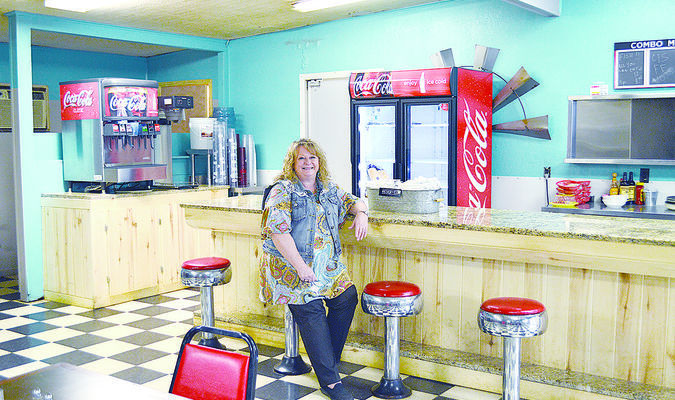 """Terri Underwood co-owns the Gallatin Olde Store Steakhouse with her husband, Byron. The restaurant has been open since October 2016 with a goal to """"fill the dining room."""" The restaurant will offer a Valentine's Day special from 5-9 p.m. Feb. 14."""