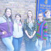 The Rotary Club of Rusk recently sent four Rusk High School juniors to Rotary Youth Leadership Awards (RYLA) Camp – Laney Birdwell, Bryanna Beam, Kylee Keith and Chase Seabourn. The group discussed their experience with the club. The four students are pictured with Rotary president Jaleea Hudnall.