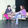 "Josie Fox (left) and Monica Kelley (right) share tales of tribulation at the Spa-Dee-Dah during the Cherokee Civic Theatre's production of ""The Hallelujah Girls."" The play will debut at 7:30 p.m. Saturday. Tickets are on sale now at www.cherokeetheatre.net or by calling (903) 683-2131."