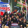 The NCA National Champion picture from the left: Bailey Bunn, Angelica Inglehart, Kaycee Johnson, Sarah Crysup, Jordan Crysup, Cydney Dement, Mackenna Dement, Kenzie Bowman, Debbie Crysup, Jonathan Polk, Shay Mueller, Mattie Bowman, Ashley Purselley, Denicea Lewis, Mattilynn Hamilton, and Lexie Stanley.