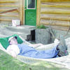 """County Judge Chris Davis shared this photo of 369th District Court Judge Bascom Bentley III relaxing during an elk hunt. Judge Bentley retired March 31 after 28 years with the court. Judge Davis' message that accompanied this picture read: """"Judge Bentley, I hope every day of your retirement is just as relaxing. You've earned it."""""""