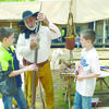 Demonstrations on pioneer life in the Republic of Texas including weapons, blacksmithing, weaving, soap and basket making, cloth dying and much more will be offered to visitors at the annual Folk Festival which will be held Saturday, April 29, from 10 a.m.-3 p.m. at Mission Tejas State Park located 12 miles west of Alto on State Highway 21.