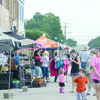 People dropped in on Rusk's historic Square from all around East Texas, enjoying booths and food as well as a street dance featuring local band The Kid Icarus Project.
