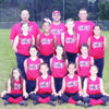 The Chaos 10U team will head to district competition in Crockett. In front are Joci Hill, Maci Morris, Gracie McCown and Ava Kozlovsky. On the second row are Aubrey Hassell, Haylee Jones and Dalli Jones. On the third row are Kamryn Kellis, Alysia Katon, Kennzie Norton and Gracie Threadgill. In back are coaches Steven Dyess, Brian Kozlovsky and Keith Norton. Not pictured are Kirsten Kirby and pick-up players Jenna Gould, Brooklyn Jackson and J'ylia Tyra.